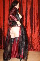 underbust corset dress open